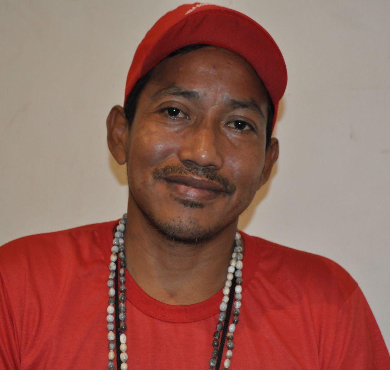 Mario Assunção, quilombola e morador de Barcarena (PA)