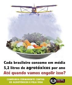Lançada campanha nacional permanente contra o uso de agrotóxicos e pela vida